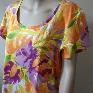 Chico's Tops - Chico's,  cotton floral top